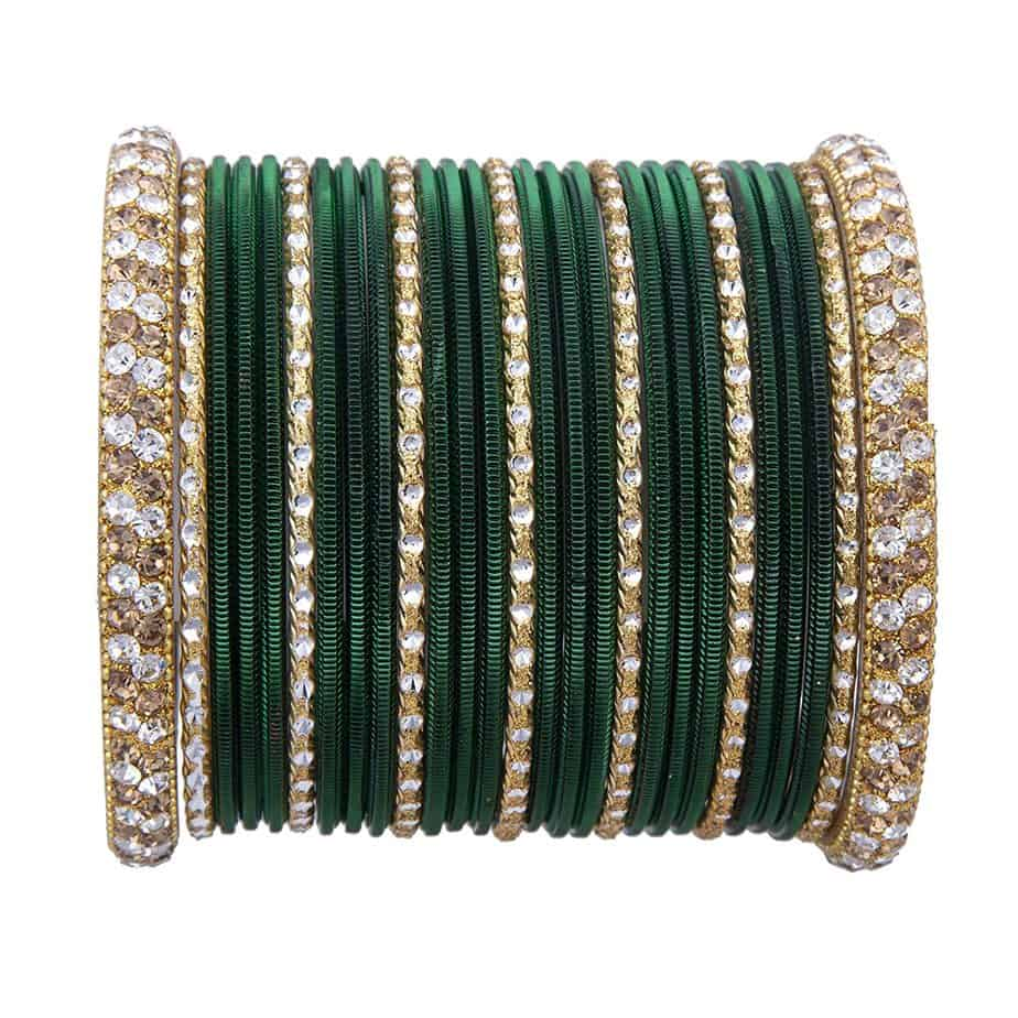 5 Best Green Bangles Set for Wedding 2020